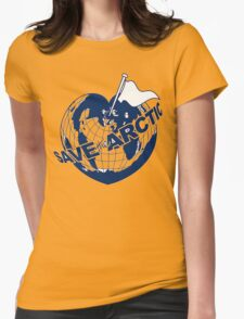 SAVE THE ARCTIC - GREENPEACE Womens Fitted T-Shirt