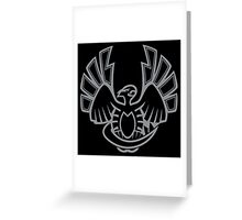 '99 Johto Waterbird Greeting Card