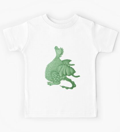 cute dragon mythical and fantasy creature art Kids Tee
