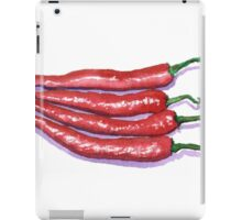 Red Hot Chilis iPad Case/Skin