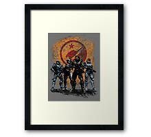 Halo - Blue Team Framed Print