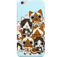 Airou & Merorou Monster Hunter cats iPhone Case/Skin