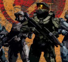Halo - Blue Team Sticker
