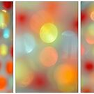 Tryptich color bokeh by InfotronTof
