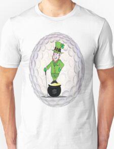 Leprechaun Golfer T-Shirt