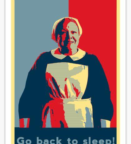 Downton Abbey - Nanny West Sticker