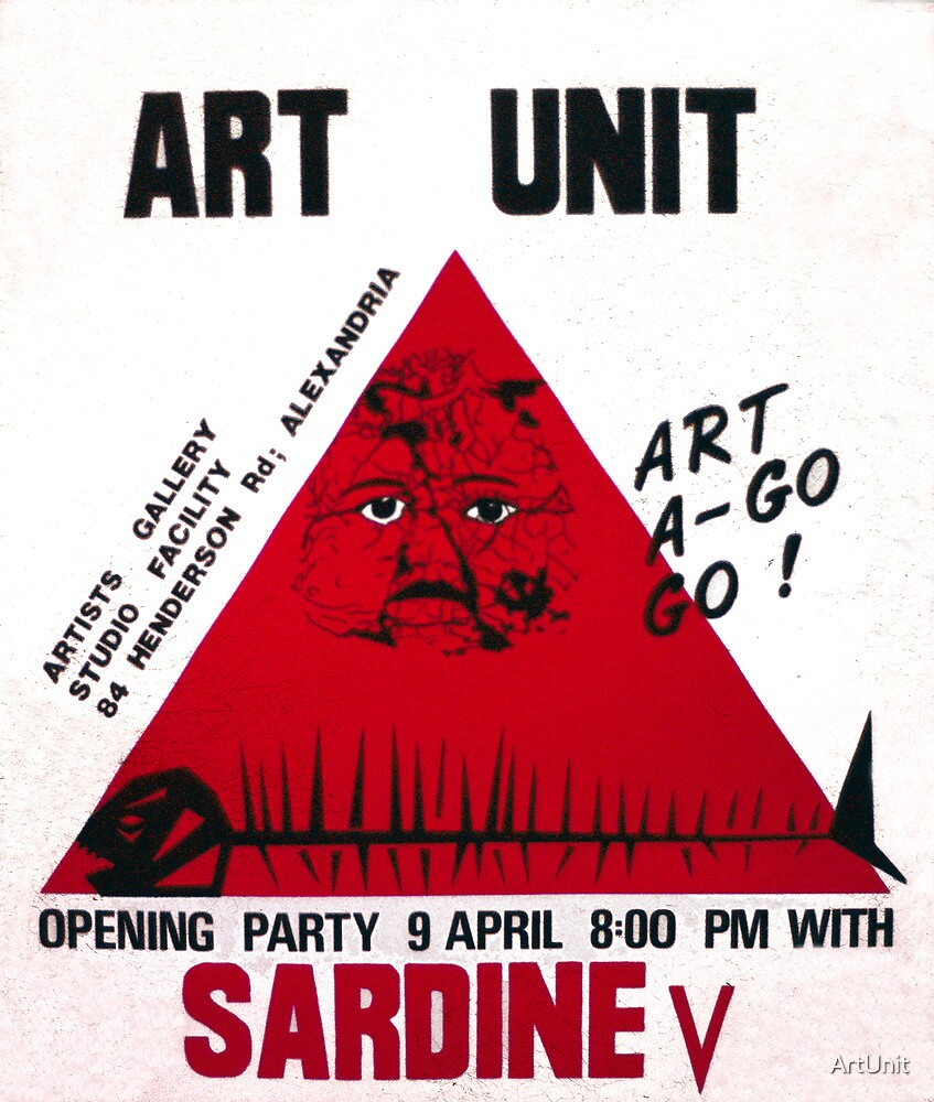 The very first poster from Art Unit by ArtUnit