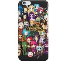 Chibi League of Legends iPhone Case/Skin