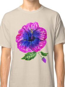 Painted Hibiscus2 Classic T-Shirt