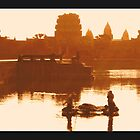 Siem Reap Angkor Wat Cambodi by kimle