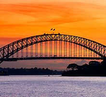 The Bridge - Sydney by Hans Kawitzki