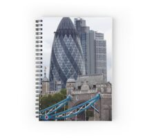 City of London, old and new Spiral Notebook