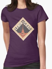 Leningrad Womens Fitted T-Shirt