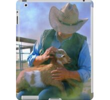 Caring for Goats iPad Case/Skin