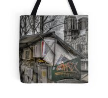Bouquinistes, Paris Tote Bag