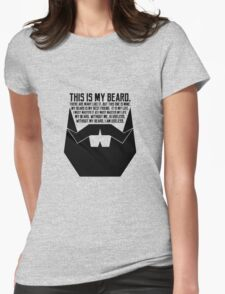 The Beard Creed Womens Fitted T-Shirt
