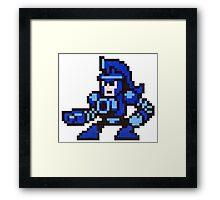 pump man Framed Print
