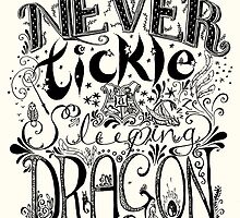 Never Tickle a Sleeping Dragon by Holly Faulkner