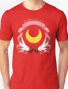Sailor Signs - Moon (Blue Variant) Unisex T-Shirt