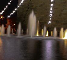 Art Centre Fountain by Melanie Conroy