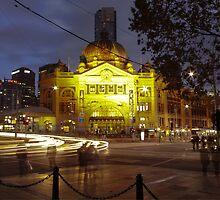 Flinders Street Station by Melanie Conroy