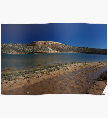 Castle Rock, Murchison River Poster