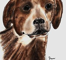 Jack Russel by Dawn B Davies-McIninch