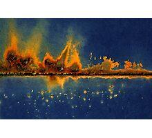City Under Seize Photographic Print
