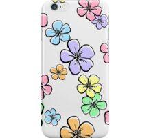 ColorfulFloralPattern iPhone Case/Skin