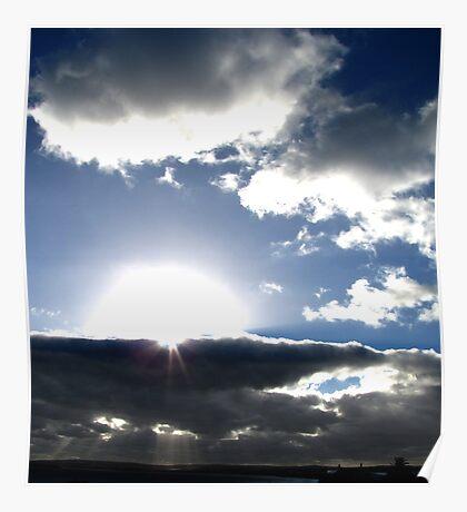 Deep rays Poster