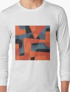 Abstract XXXIX Long Sleeve T-Shirt