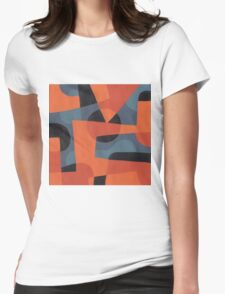 Abstract XXXIX Womens Fitted T-Shirt