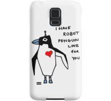 Penguin Robot Samsung Galaxy Case/Skin