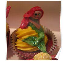 Mermaid Cake  Poster