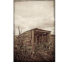 Old Bus Shelter Photographic Print