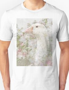 Goose in Spring Blossoms T-Shirt