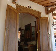 wooden door by bayu harsa