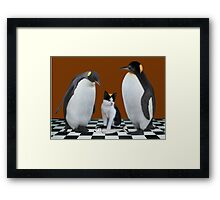 """THIS IS NOT JUNIOR - WHO IS THIS IMPOSTER?"" Always show the you in you that makes you the you that you are.  Framed Print"