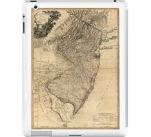 The Province of New Jersey Map (1778) iPad Case/Skin