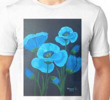 Blue poppies Unisex T-Shirt