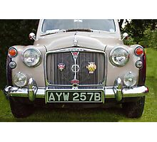 Classic British Rover Photographic Print