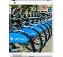 Bicycles London England iPad Case/Skin