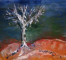 Lone tree by Elizabeth Kendall