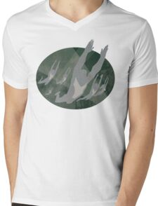 The Flying Graysons Mens V-Neck T-Shirt