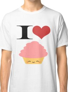 I <3 Cupcakes Classic T-Shirt