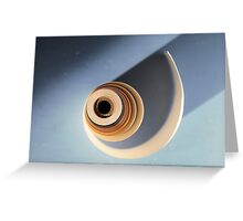 Old roll of paper Greeting Card