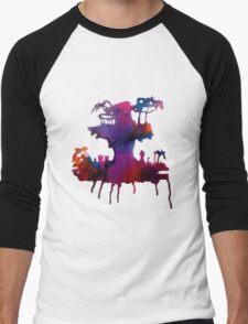 Gorillaz Plastic Beach Men's Baseball ¾ T-Shirt