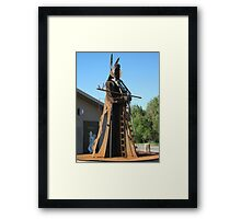 Chief Joesph Framed Print