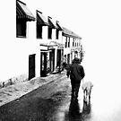 On the street by Gisele Bedard