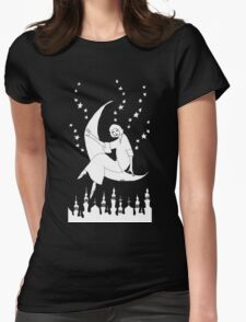 Mother of the Night T-shirt by Allie Hartley Womens Fitted T-Shirt